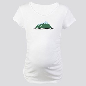Steamboat Springs Maternity T-Shirt