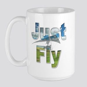 Just Fly Large Mug