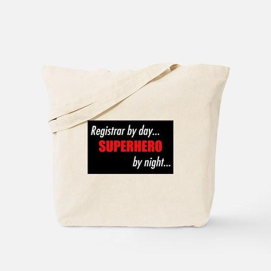 Superhero Registrar Tote Bag