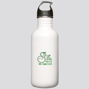 She Who Must Be Obeyed Stainless Water Bottle 1.0L