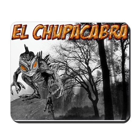 Chupacabra in the Woods 5 Mousepad