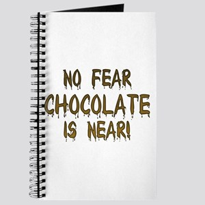 No Fear Chocolate Is Near! Journal