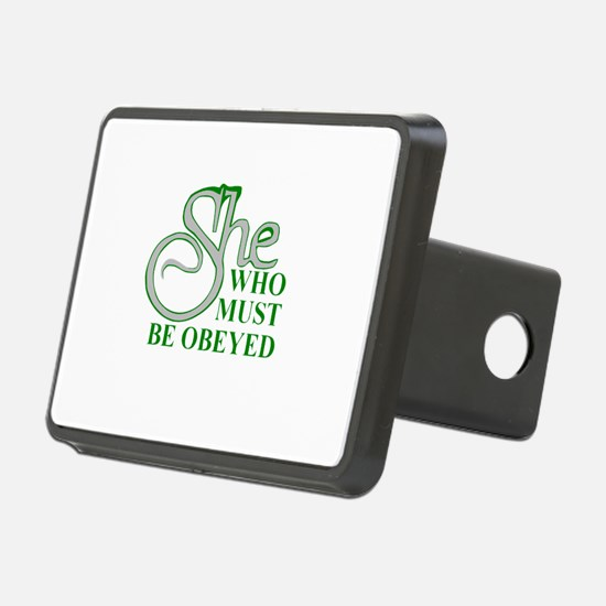 She Who Must Be Obeyed quo Hitch Cover