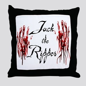 Bloody Hands Jack Throw Pillow