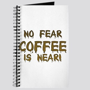 No Fear Coffee Is Near! Journal