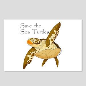 Save Sea Turtles Postcards (Package of 8)