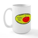 Large Organic Tomato Mug (lefty)