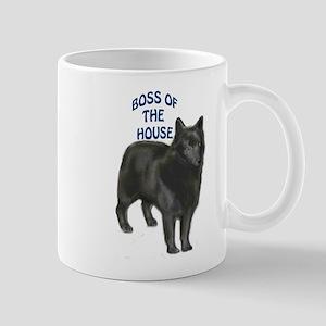 Schipperke boss Mug