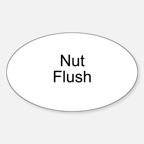 Nut Flush Oval Decal