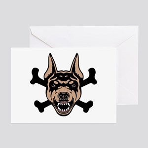 Dobe and Bones II Greeting Cards (Pk of 10)