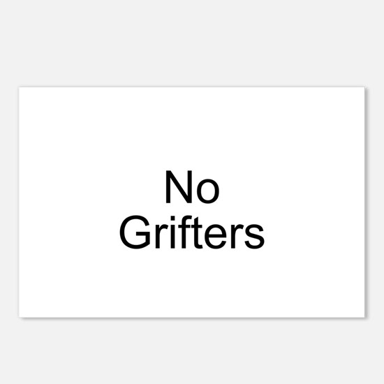 No Grifters Postcards (Package of 8)