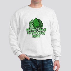 Tree Hugging Hippie Sweatshirt
