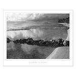 Kaaawa at dawn - Low Tide: Poster, 16x20