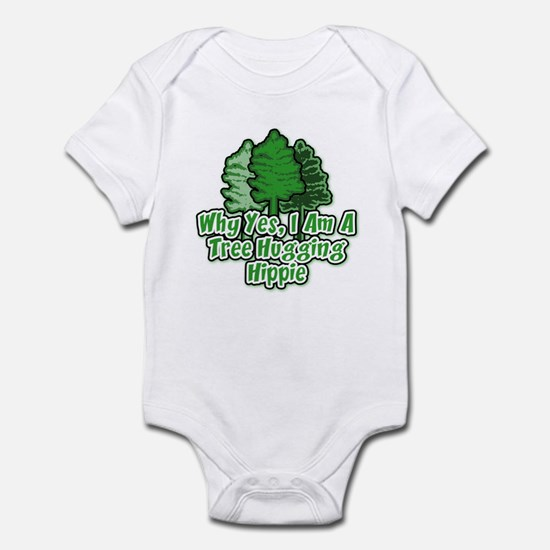 Tree Hugging Hippie Infant Bodysuit