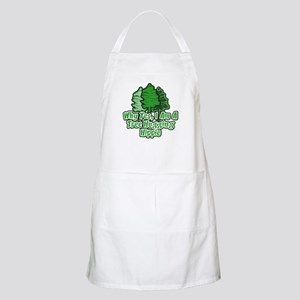 Tree Hugging Hippie BBQ Apron