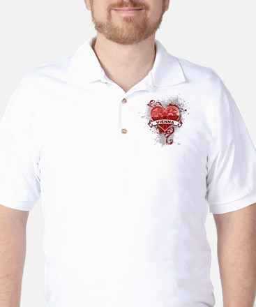 Heart Vienna Golf Shirt