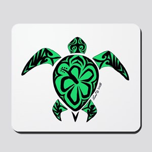 Tribal Turtle Mousepad