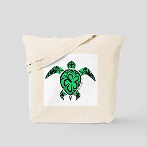 Tribal Turtle Tote Bag