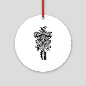 Cuckoo Clock Ornament (Round)