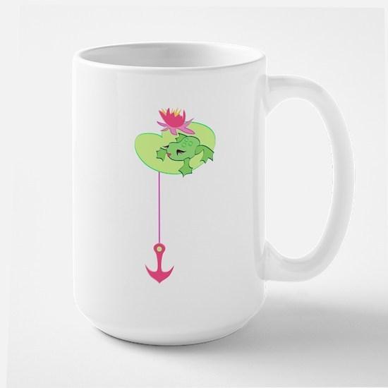 Miss Lady Frog Large Mug