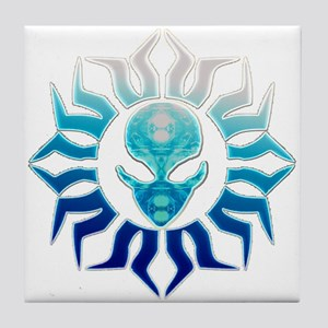 Alienwear Tribal 20B Tile Coaster