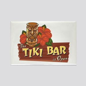 Tiki Bar is Open II - Rectangle Magnet