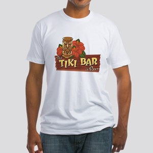 Tiki Bar is Open II - Fitted T-Shirt