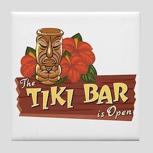 Tiki Bar is Open II - Tile Coaster