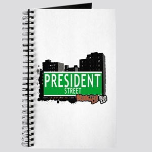 PRESIDENT STREET, BROOKLYN, NYC Journal