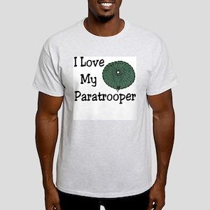 Paratrooper Love Ash Grey T-Shirt