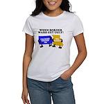 When Border War Gets Ugly! Women's T-Shirt