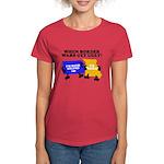 When Border War Gets Ugly! Women's Dark T-Shirt
