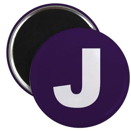 J Button Magnet