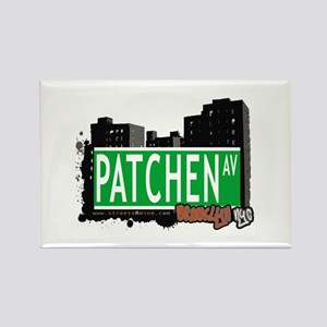PATCHEN AV, BROOKLYN, NYC Rectangle Magnet