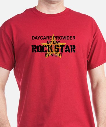 Daycare Provider Rock Star T-Shirt