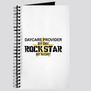Daycare Provider Rock Star Journal