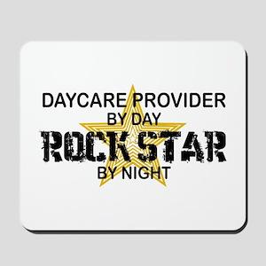 Daycare Provider Rock Star Mousepad