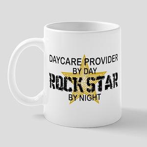 Daycare Provider Rock Star Mug