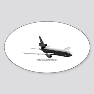 KC-10 Tanker Oval Sticker