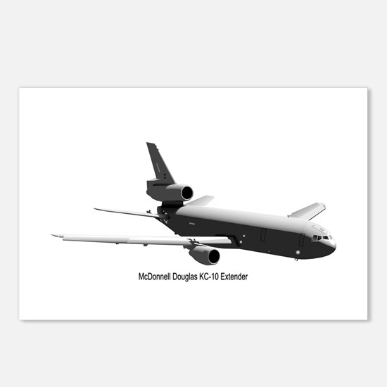 KC-10 Tanker Postcards (Package of 8)