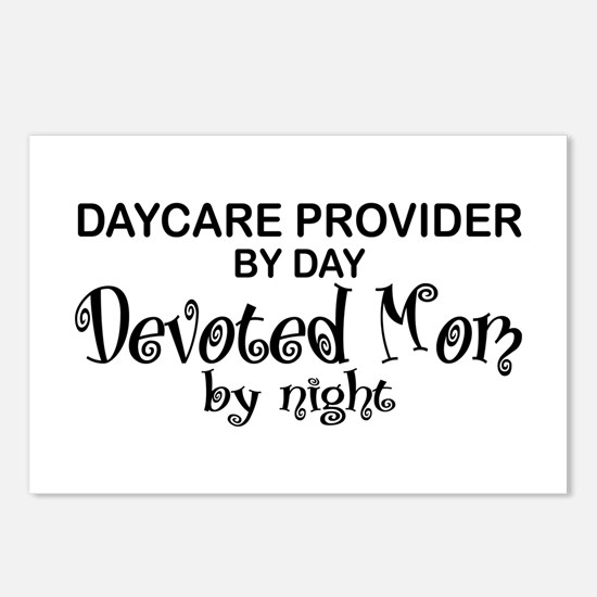 Devoted Mom Daycare Provider Postcards (Package of
