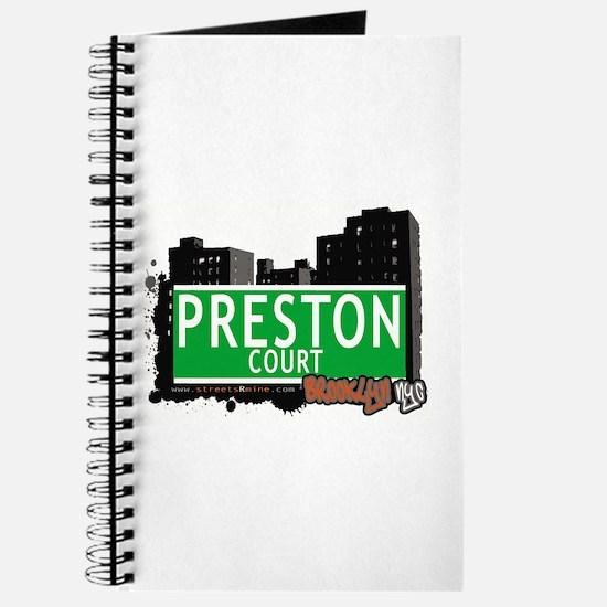 PRESTON COURT, BROOKLYN, NYC Journal