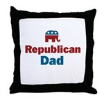 Republican Dad Throw Pillow