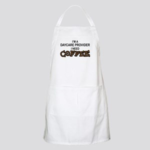 Daycare Provider Need Coffee BBQ Apron