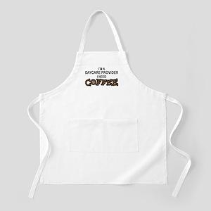 Daycare Provider Need Coffee BBQ Apron