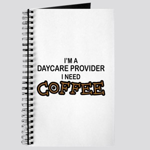 Daycare Provider Need Coffee Journal