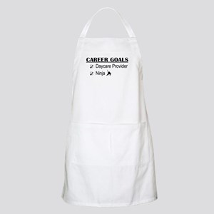 Daycare Provider Career Goals BBQ Apron