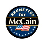 Brunettes for McCain! 3.5