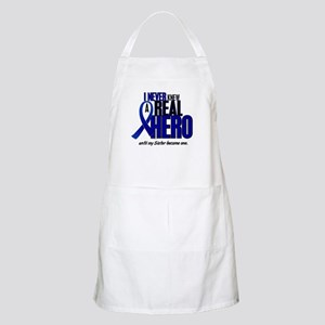 Never Knew A Hero 2 Blue (Sister) BBQ Apron