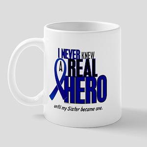 Never Knew A Hero 2 Blue (Sister) Mug